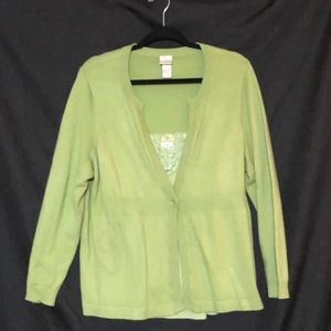 Lane Bryant Plus Size Sweater Set